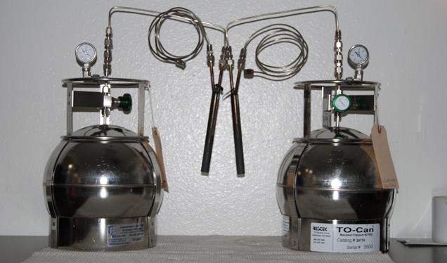 Sampling Equipment And Media Air Testing Lab Ambient